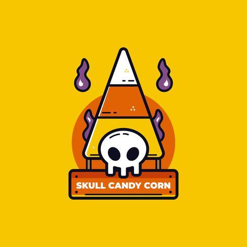 vector de dulces de halloween