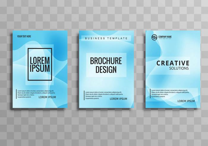 Modern buisness brochuse template set