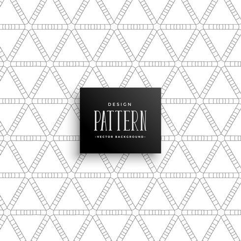 Fondo de patrón de línea triángulo abstracto