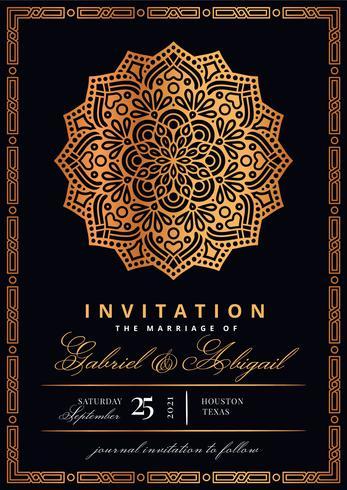 Invitación de estilo islámico