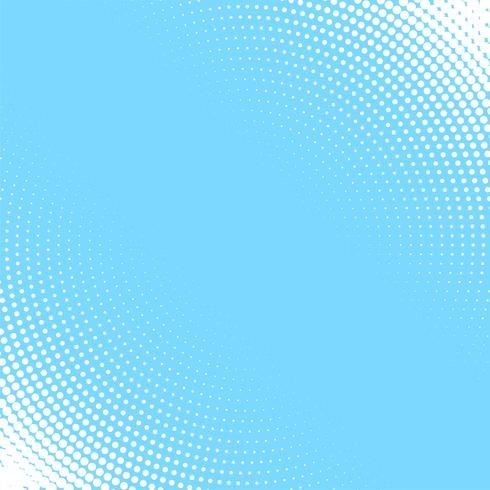 light blue background with white circular halftone pattern
