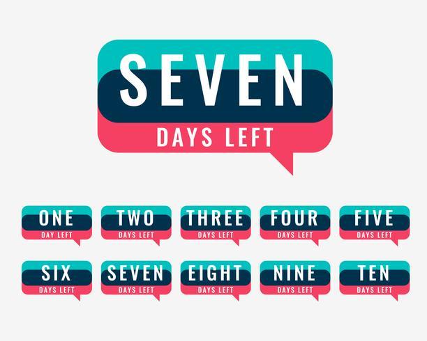 nombre de jours restants guichet pour vente et promotion