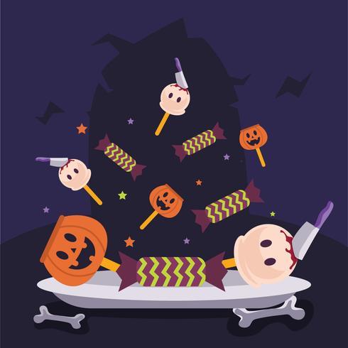 Halloween snoep