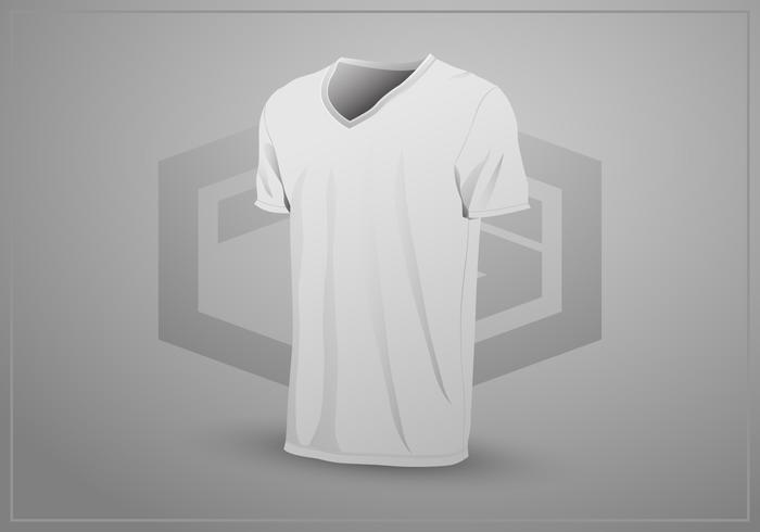 Realistic T-Shirt Mock Up Template