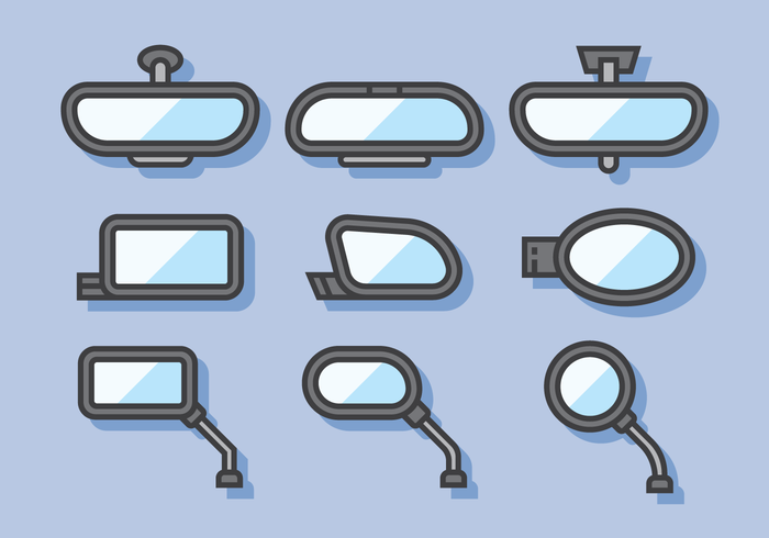 Espejo retrovisor Vector
