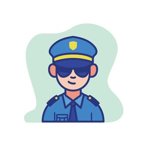 Policial vetor