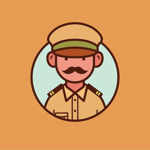 Indischer Polizist