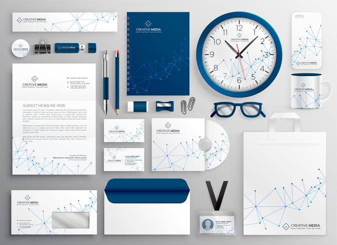 Geschäftsbriefpapier im Wireframe-Diagramm