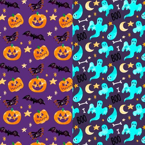 Lindo patrón de Halloween