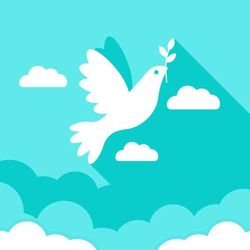 Fred Symbol Med Dove Vector