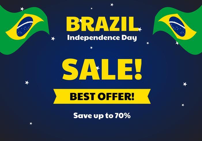 Vendita del giorno dell'indipendenza del Brasile