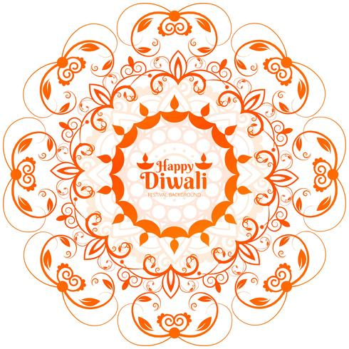 Fundo abstrato brilhante lindo diwali