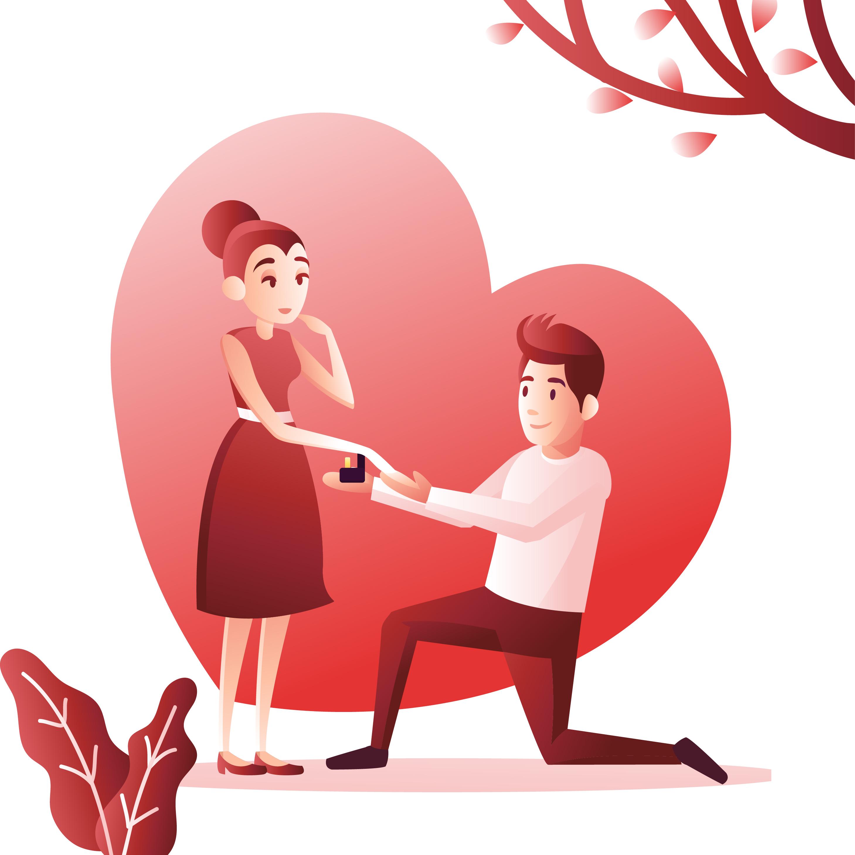 Engagement Proposal Couple