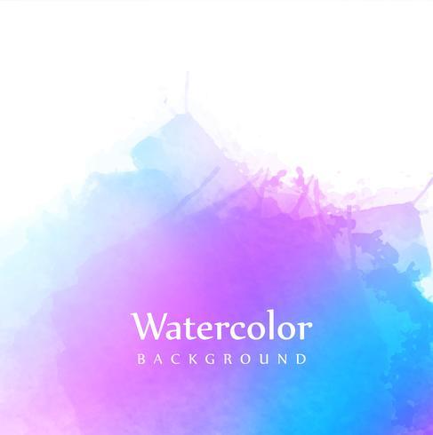 Ilustração de fundo abstrato colorido aquarela