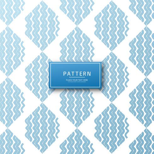 Abstracte geometrische lijnen patroon ontwerp
