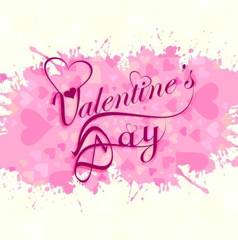 Happy Valentijnsdag kleurrijke harten liefde kaart ontwerp