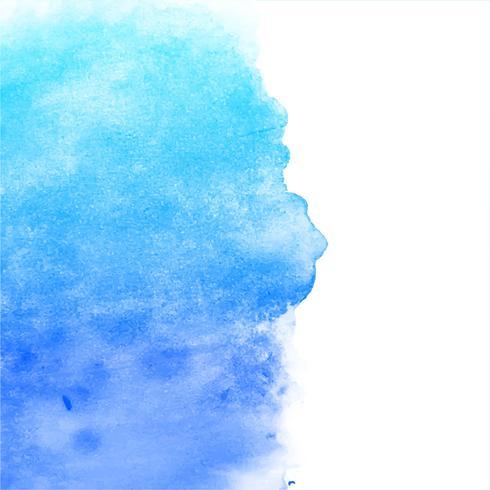 fundo aquarela azul moderno