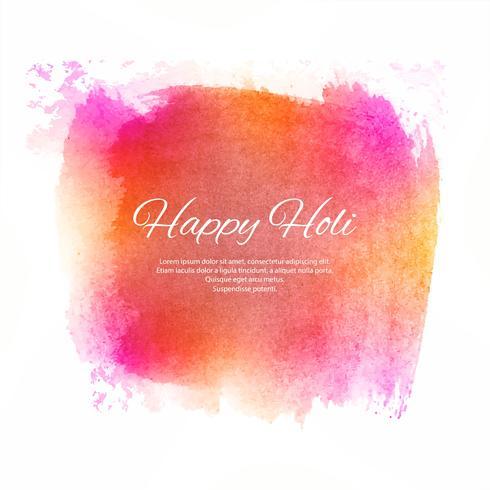 Feliz Holi fundo colorido com fundo festival
