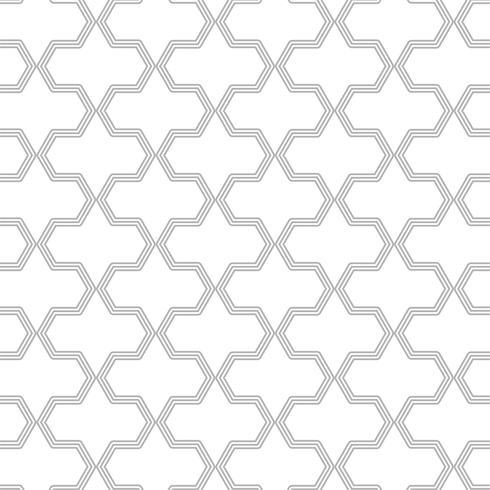 Elegant decoratief naadloos patroonontwerp
