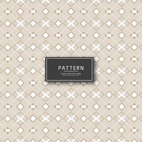 Elegante abstrata geométrica sem costura padrão design ilustração