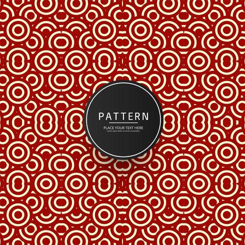 Seamless geometric pattern design vector