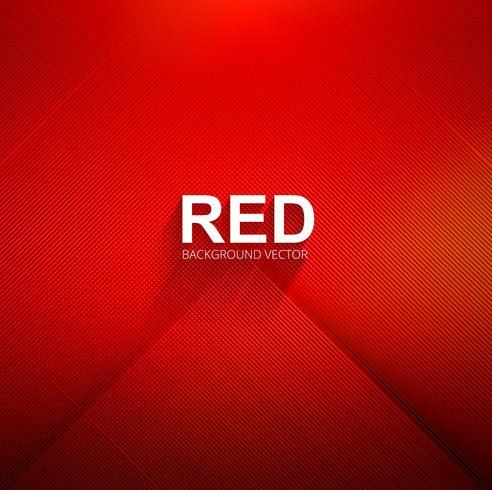 Vecteur de fond lignes abstraites rouges