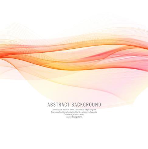 Abstracte elegante kleurrijke golfachtergrond