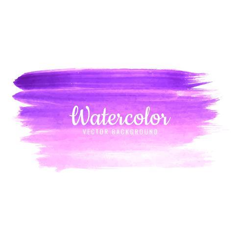 Mão desenhada design de sombra colorida de traçado de aquarela