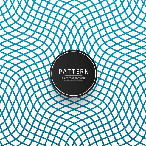 Vettore elegante del modello blu geometrico moderno