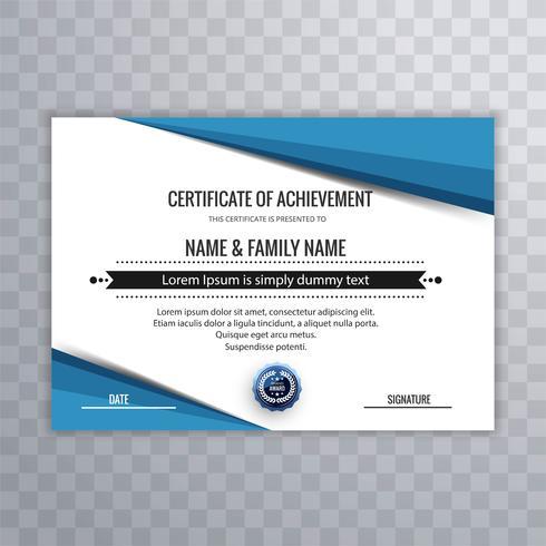 Modelo de certificado para conclusão de graduação de realização