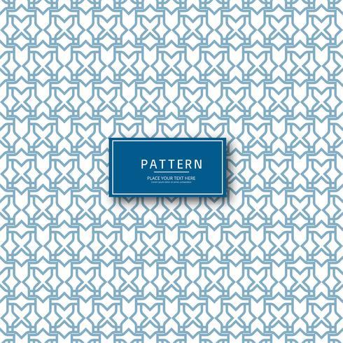 Vetor de desenho padrão geométrico abstrato sem emenda