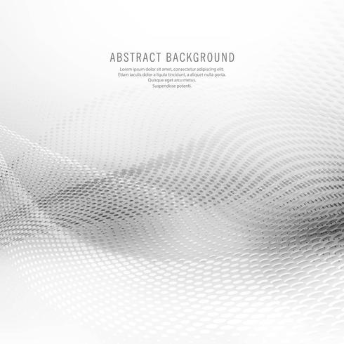 Abstracte grijze mesh golf achtergrond