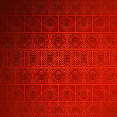 Abstrato decorativo sem costura vermelha de fundo vector