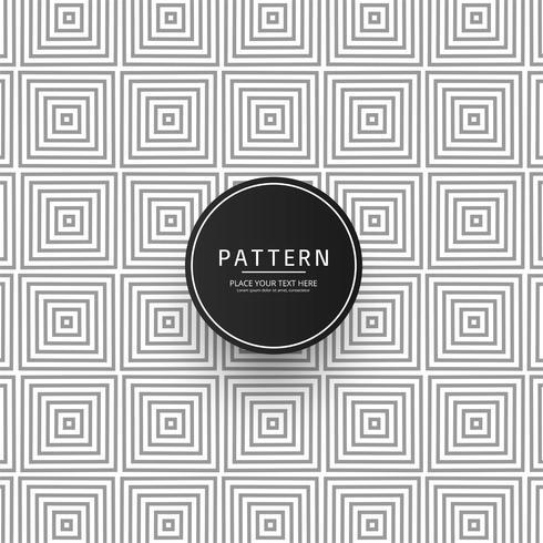 Arte vetorial sem costura padrão geométrico design