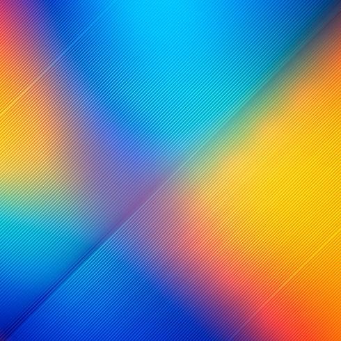 Ilustração de fundo abstrato brilhante linhas coloridas
