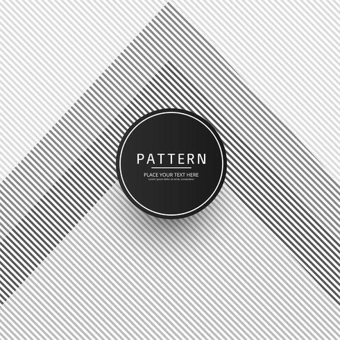 Diseño de ilustración de vector de patrón geométrico