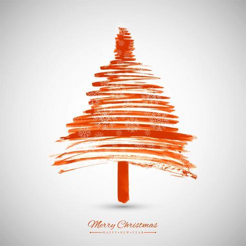 fond d'arbre de Noël moderne