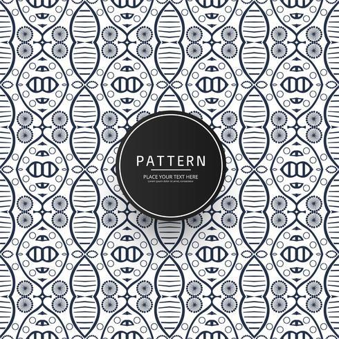 Seamless pattern of intersecting geometric background