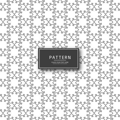 Design moderno padrão geométrico sem costura abstrata