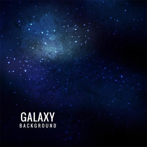 Universo abstrato cheio de estrelas, nebulosa e galáxia backgrou