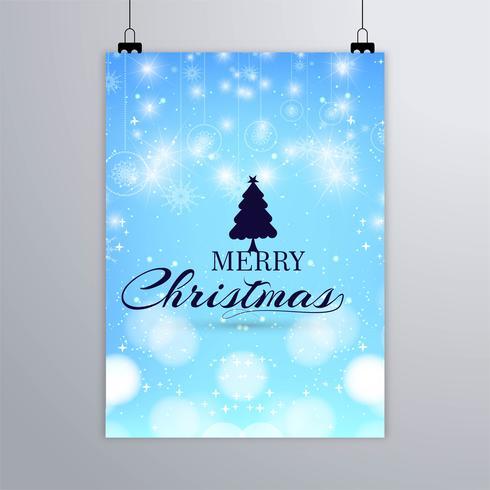Brochura moderna de Natal