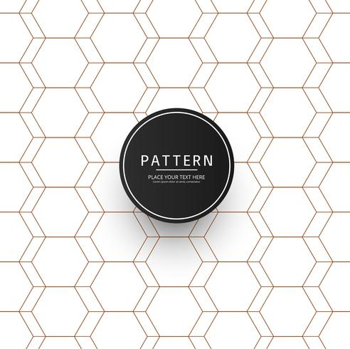 Vetor de desenho de padrão de listras geométricas abstratas