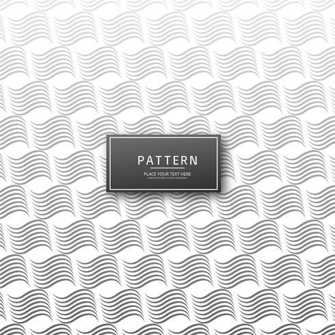 Linhas geométricas criativas abstratas padrão sem emenda
