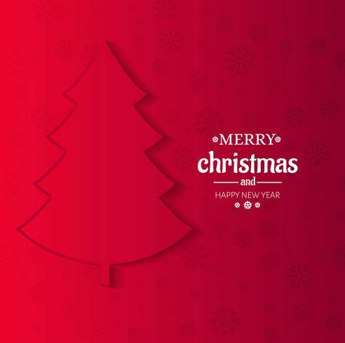 Fundo de árvore de Natal moderna