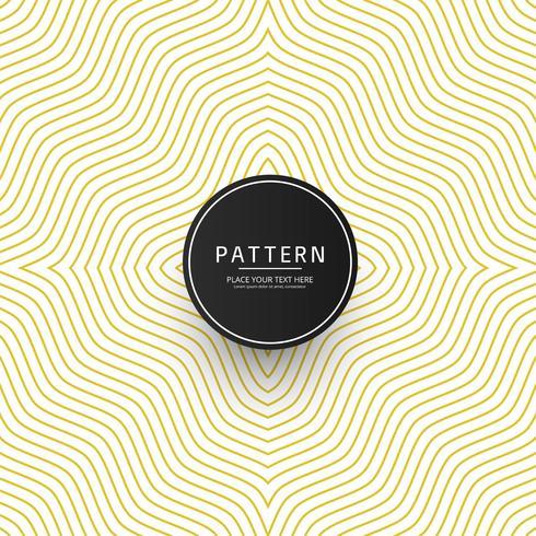 Creative geometric pattern elegant background vector