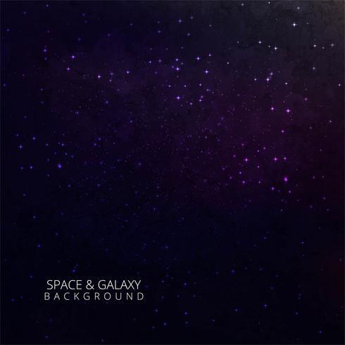 Abstrakter Himmelnachtstern blauer Galaxiehintergrund