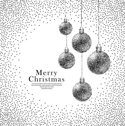 Moderne kerst achtergrond