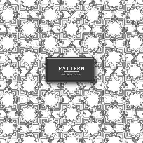 Fundo abstrato elegante moderno padrão sem emenda geométrico