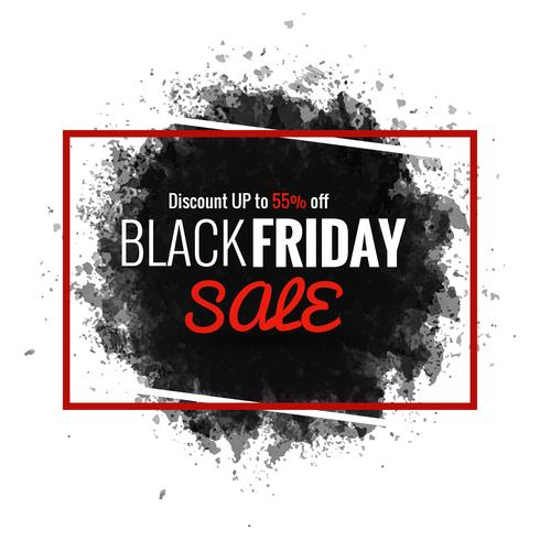 fundo de venda sexta-feira negra moderna