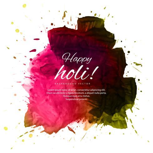 Gelukkige holi kleurrijke mooie festivalachtergrond